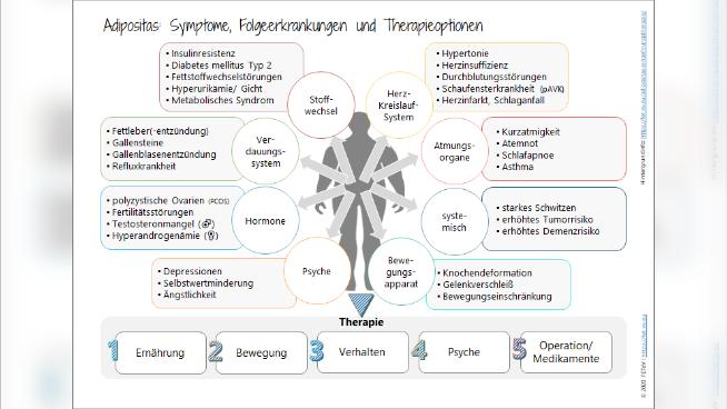 Adipositas: Symptome, Folgeerkrankungen und Therapieoptionen