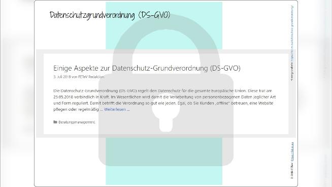 Datenschutz-Grundverordnung (DS-GVO)