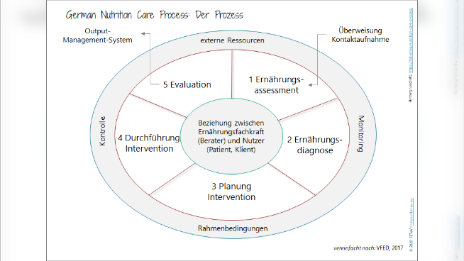 German Nutrition Care Process: Der Prozess