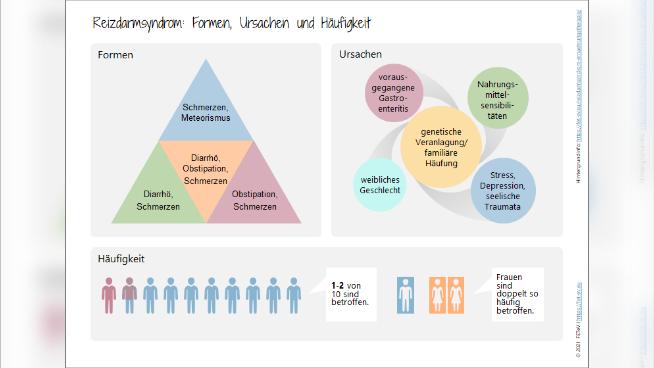 Reizdarmsyndrom - Formen, Ursachen und Häufigkeit